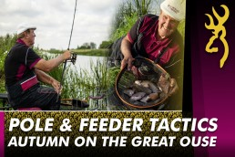 Bob Nudd pole fishing